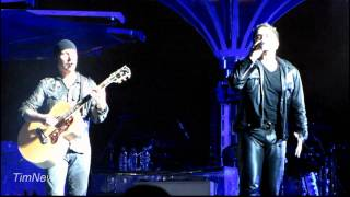 U2 (1080HD) - Stuck In A Moment (for Amy Winehouse) - Minneapolis - 2011-07-23 - TCF Bank Stadium