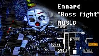 "On the 5th night in Five Nights at Freddys Sister Location there's a secret ""boss"" fight with the secret animatronic called Ennard. Heres the soundtrack that plays during it!"