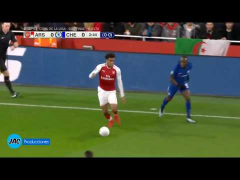 Arsenal Vs Chelsea 2-1 All Goals & Highlights 24/01/18