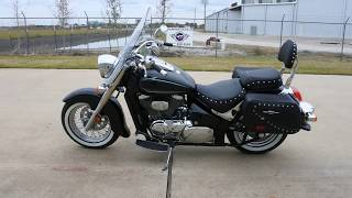 8. $6,499:  Pre Owned 2016 Suzuki Boulevard C50T Overview and Review