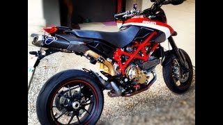10. Ducati Hypermotard 1100 EVO SP Termignoni