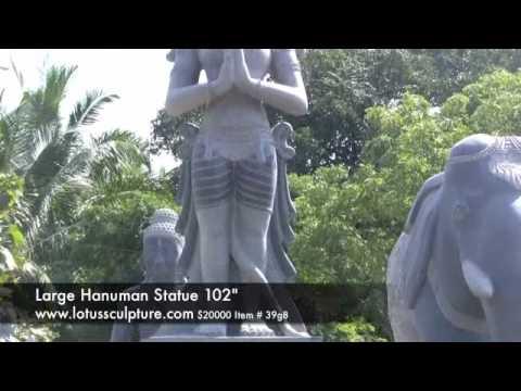 Large Praying Hanuman Statue 102