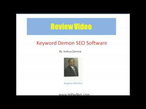 Keyword Demon SEO Software Review – DON'T BUY Keyword Demon SEO Softwarekeyword demon