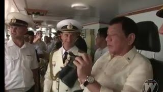 "Philippine President Rodrigo ""Digong"" Roa Duterte visited Russian anti-submarine warship Admiral Tributs docked at Pier 15, North Harbor, Manila.Russia is prepared to strengthen its relationship  with the Philippines as a reliable partner and a close friend of the country.More Articles Here:AFP Modernization News: http://www.vjdefense.com/ Blog: http://www.phildefnews.blogspot.comFacebook: https://www.facebook.com/vjdefenseTwitter: https://twitter.com/vjnorz"
