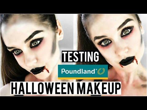 Testing Poundland HALLOWEEN Makeup: Vampire Makeup Tutorial | KatesBeautyStation