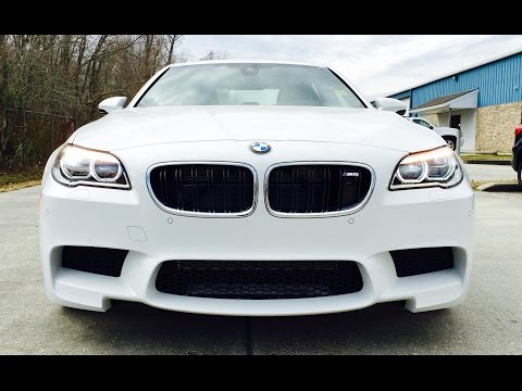 2015 BMW M5 Full Review /Exhaust /Start Up