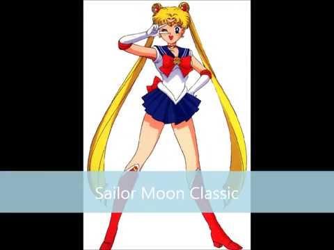 All Sailor Moon Transformation themes