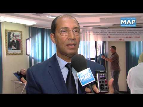 تنظيم حملة للتبرع بالدم بأكاديمية محمد السادس الدولية للطيران المدني بإقليم النواصر