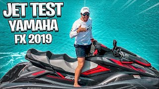 3. Yamaha FX Cruiser SVHO 2019 - JET TEST