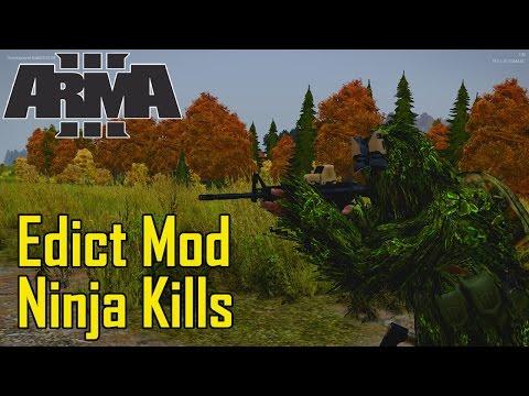 ArmA 3 Edict: Ninja Kills (видео)