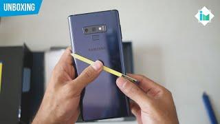 Samsung Galaxy Note 9   Unboxing en español