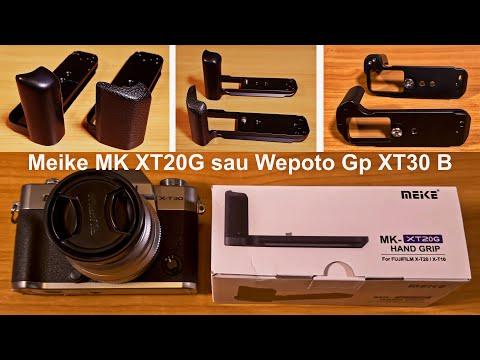 Grip Meike MK XT30G sau Wepoto Gp XT20 B? Care este mai bun pe Fijifilm X-T30?