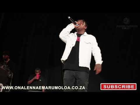Focalistic & Major League Perform Shoota Moghel .www.onalennaemarumoloa.co.za