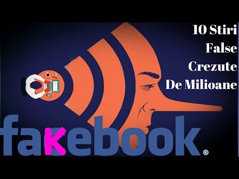Top 10 Stiri False Muscate De Milioane De Creduli