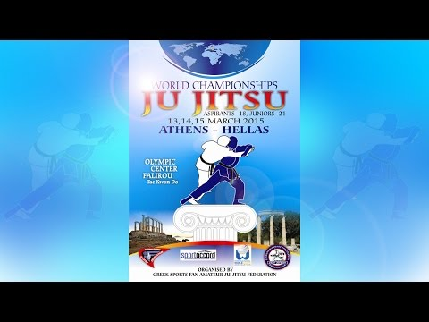 World Championships Ju-Jitsu Athens Hellas – 14 March (LIVE)