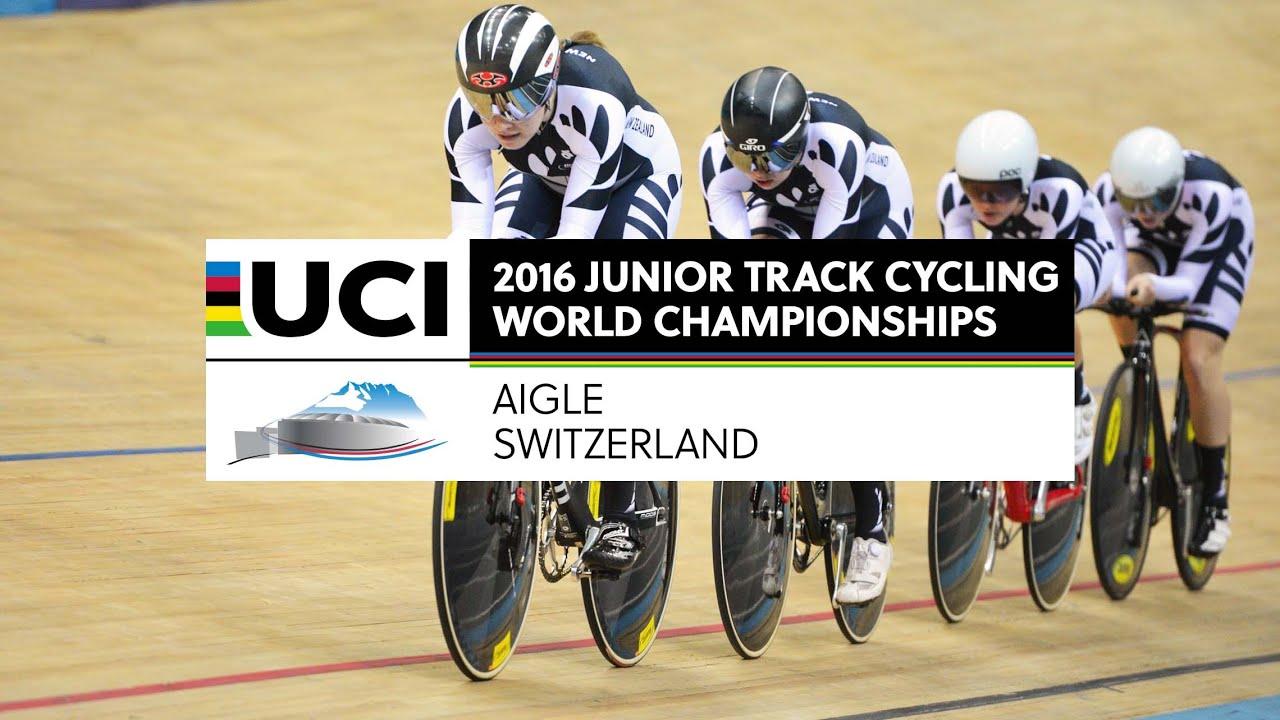 Mondiali pista Juniores Aigle 2016 - 1^ giornata