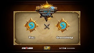 greensheep vs Vinz, game 1