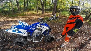 10. He got a NEW Raptor 700R!