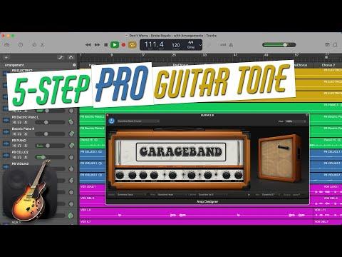 PRO Guitar Tones with GarageBand Amp Designer (GarageBand Tutorial)