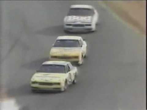 1986 Winston West 500 finish