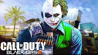 THE JOKER PLAYS CALL OF DUTY! (Black Ops 3 Ninja Montage Troll...