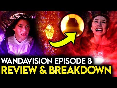 WandaVision Episode 8 Breakdown & Review - MAJOR Post Credit Scene & Quicksilver Explained