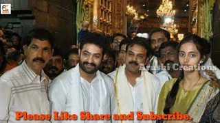 May 2, 2017 ... Jr NTR and Lakshmi pranathi offers Prayers at Tirumala Temple .... Jr NTR REAL nBEHAVIOUR With Fans  NTR With his WIFE Lakshmi ...