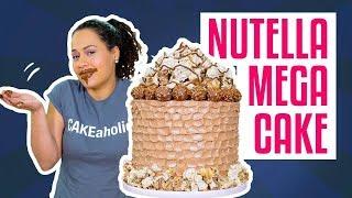 Video How To Make A MEGA NUTELLA CAKE | Hazelnut MERINGUE & BUTTERCREAM | Yolanda Gampp | How To Cake It MP3, 3GP, MP4, WEBM, AVI, FLV Oktober 2018
