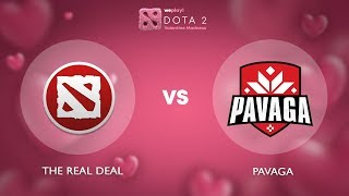 The ReaL DeaL vs Pavaga Gaming - RU @Map1 | Dota 2 Valentine Madness | WePlay!
