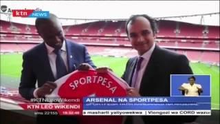 Sportpesa Yatia Kandarasi Na Klabu Ya  Arsenal