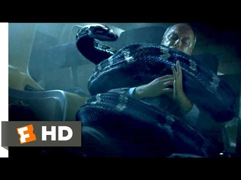 Snakes on a Plane (2006) - Python Attack Scene (7/10) | Movieclips