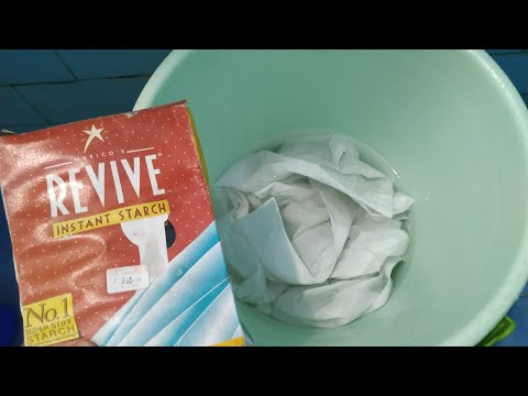 Revive instant starch | how to starch clothes | How to use revive instant starch  |