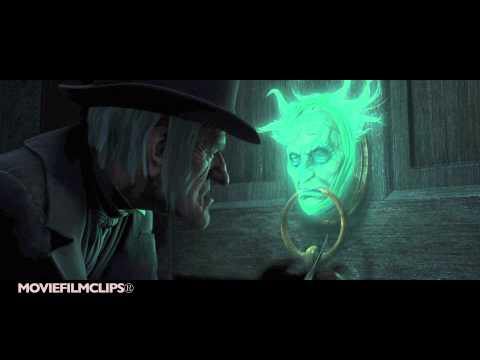 Jacob Marley In The Door Knob - A Christmas Carol (2009) - HD
