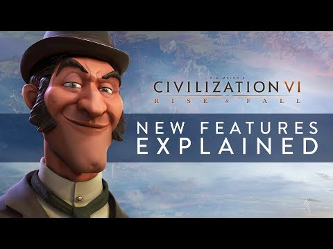 Twórcy gry omawiają mechanizmy działania największych i najważniejszych nowości, jakie przyniesie dodatek Civilization VI: Rise and Fall