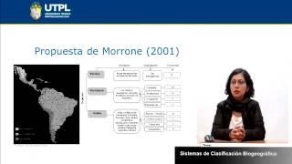 UTPL SISTEMAS DE CLASIFICACIÓN BIOGEOGRÁFICA [(GESTIÓN AMBIENTAL)(ECOSISTEMAS DEL ECUADOR)]