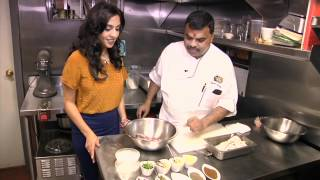 Michelin Star Restaurant Tulsi in NYC has the largest Naan you've ever seen! - Andaaz