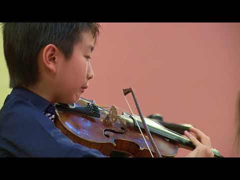 CHRISTIAN LI / Menuhin Competition 2018, Junior Semi-finals