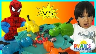 Hungry Hungry Hippo Board Game with Disney Cars Micro Drifters