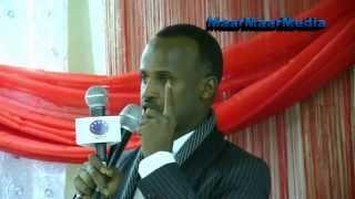 Maxdaweyne Ku Xigeenka Gobolka Somaalida Ethiopia Oo Oo Ka Hadlay Horoomarka Ka Socda Sitti