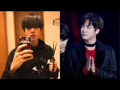 [BTS NEWS] BTS` Jin Cut His Bangs by Himself, His Hairdresser Scolded Him