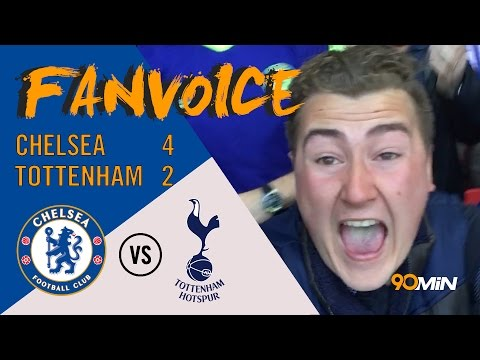 Chelsea 4-2 Tottenham | Matic screamer & Willian goals give Chelsea FA Cup semi win | 90min FanVoice