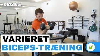 Varier din bicepstræning
