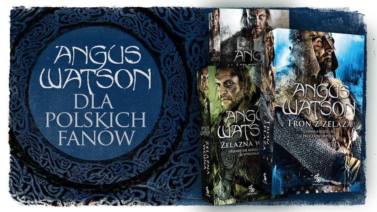 Angus Watson wita polskich fanów!