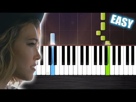 Rachel Platten - Fight Song - EASY Piano Tutorial by PlutaX - Synthesia