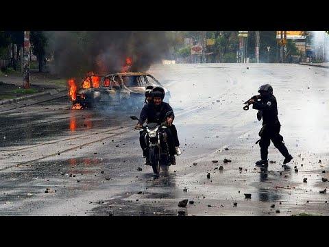 Nicaragua kommt nicht zur Ruhe - immer neue Protest ...