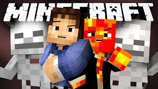 DEATH TO THE NECROMANCER! (Minecraft Hunger Games Classes with Preston and Woof!)
