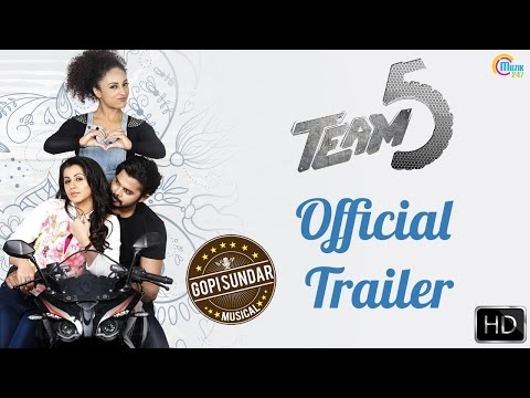 Team 5 Malayalam Movie Trailer | Sreesanth, Nikki Galrani