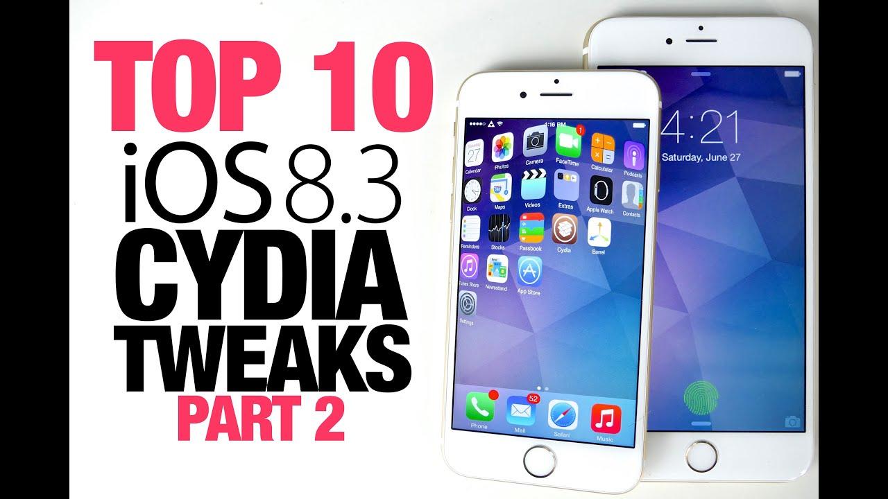 Top 10 iOS 8.3 Cydia Tweaks Part 2 – Taig 8.3 Jailbreak Compatible