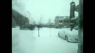 Nicholasville (KY) United States  city images : Winter Storm Jonas Time Lapse Nicholasville, KY January 22, 2016
