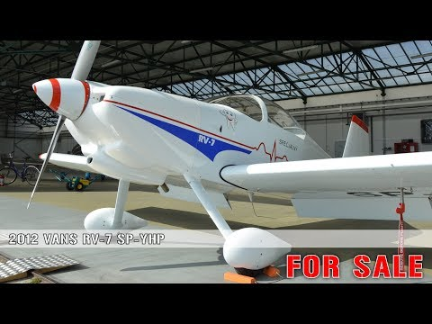VANS RV7 SP-YHP FOR SALE